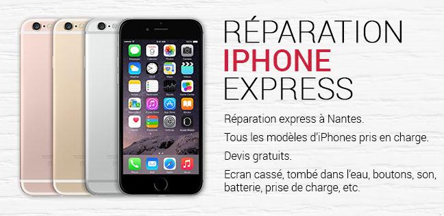 Faite réparer votre iPhone et son écran qui est cassé à Nantes.
